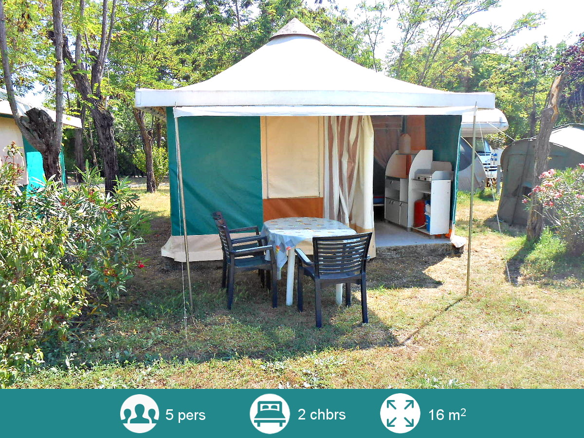location tente equipee camping