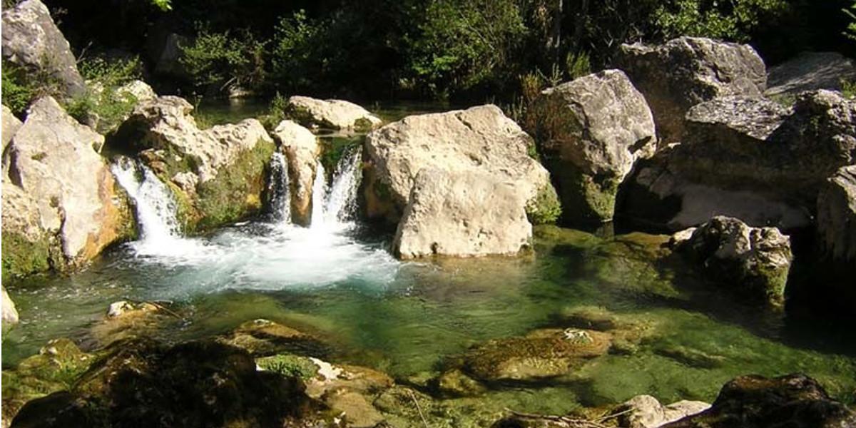 la siagne rivière à montauroux dans le var
