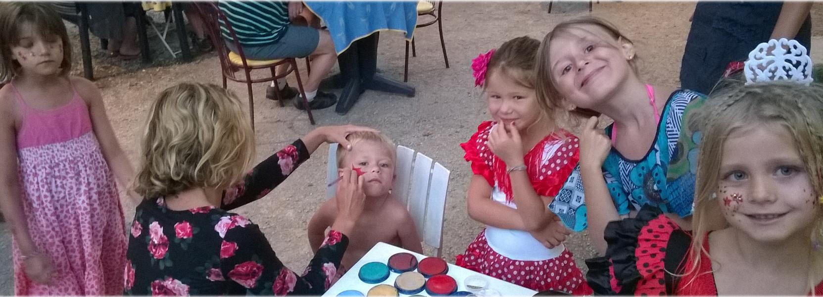 animation enfant au camping les floralies a Montauroux var provence