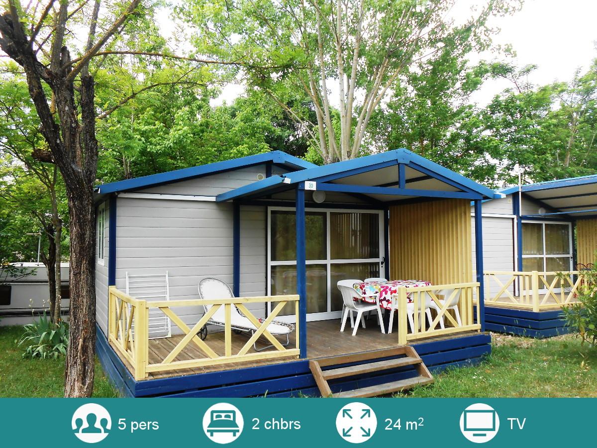 Location mobil-home de 4 à 6 personnes au Camping Les Floralies Montauroux Var